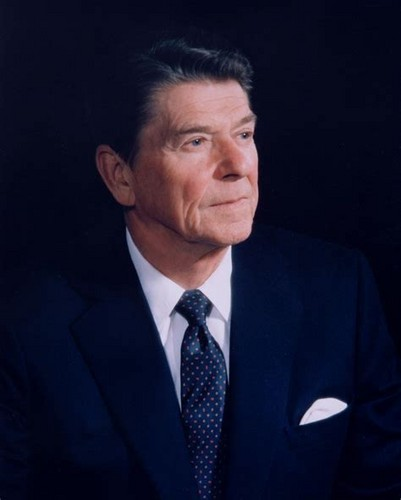 U.S. Republican Party Hintergrund entitled Ronald Reagan