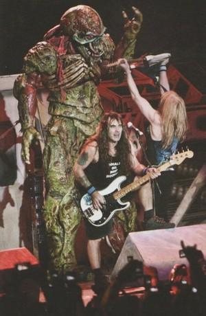 Steve Harris and Janick Gers