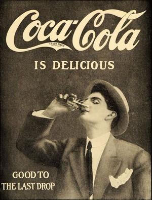 Vintage কোকাকোলা ad