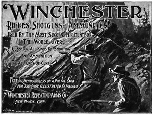 Winchester Repeating Arms Company advertisement 1898