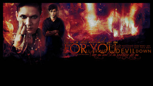 Alec/Magnus wallpaper - For te