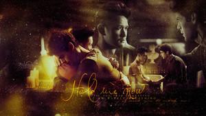 Alec/Magnus wallpaper - Hold Me Now