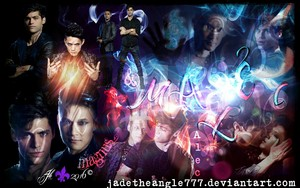 Alec/Magnus wallpaper