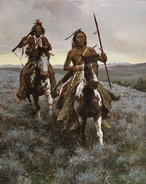 Blackfoot Raiders سے طرف کی Howard Terpning