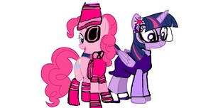 Danger Pinkie and Twilight Sparkle At The Marriage