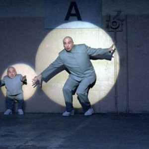 Dr Evil Escaping