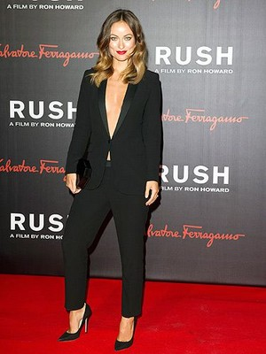 Olivia Wilde at the 'Rush' Premiere