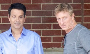 Ralph Macchio And Billy Zabka