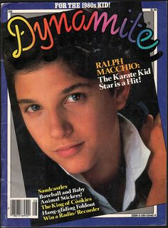 Ralph on 'Dynamite' Magazine Cover