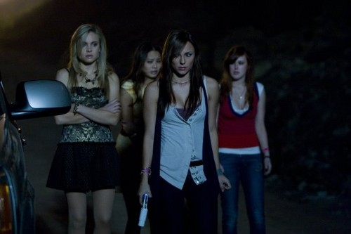 Horror Movie (remakes) Hintergrund entitled Sorority Row (2009)
