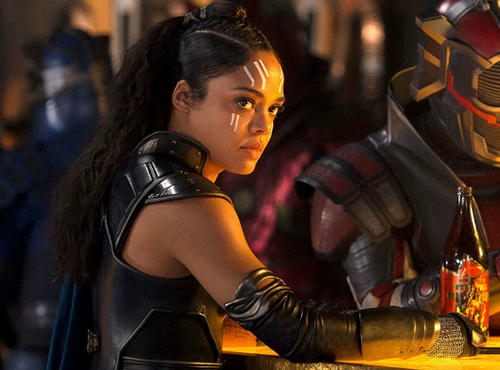 Thor: Ragnarok wallpaper entitled Tessa Thompson as Valkyrie in Thor Ragnarok (2017)