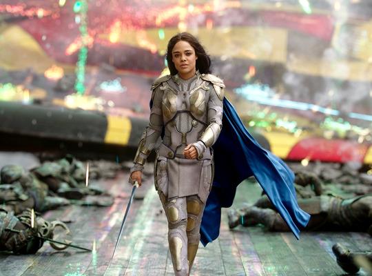 Tessa Thompson as Valkyrie in Thor Ragnarok (2017)
