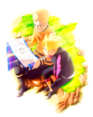 naruto and boruto