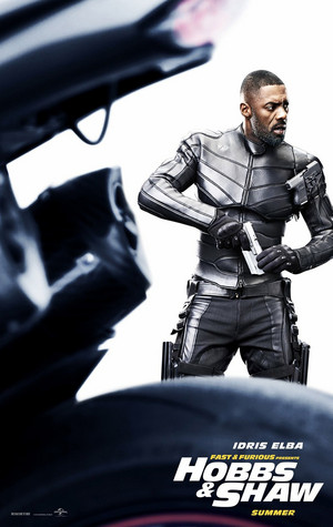 Fast & Furious Presents: Hobbs & Shaw - Poster - Idris Elba as Brixton