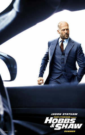 Fast & Furious Presents: Hobbs & Shaw - Poster - Jason Statham as Deckard Shaw