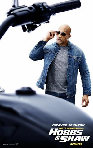 Fast & Furious Presents: Hobbs & Shaw - Poster - Dwayne Johnson as Luke Hobbs
