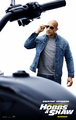 Fast & Furious Presents: Hobbs & Shaw - Poster - Dwayne Johnson as Luke Hobbs - fast-and-furious photo