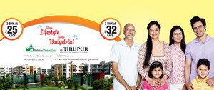 Budget Apartments for sale in Ammapalayam Tirupur