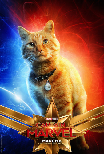 Marvel's Captain Marvel fond d'écran called Captain Marvel (2019) promo posters