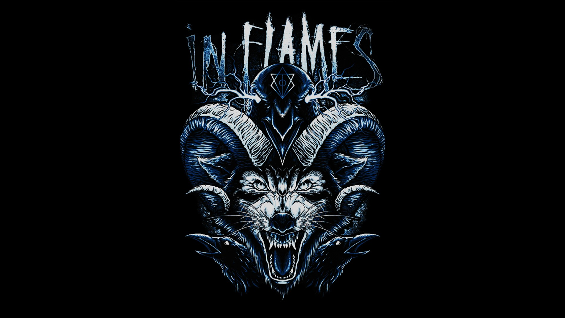 In Flames Heavy Metal Wallpaper 42459413 Fanpop