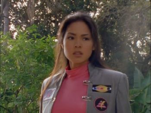 Cassie Second Pink Turbo Ranger and Pink Space Ranger 4