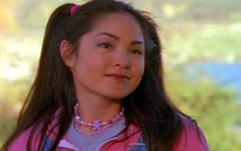 Cassie Second Pink Turbo Ranger and Pink Space Ranger 5