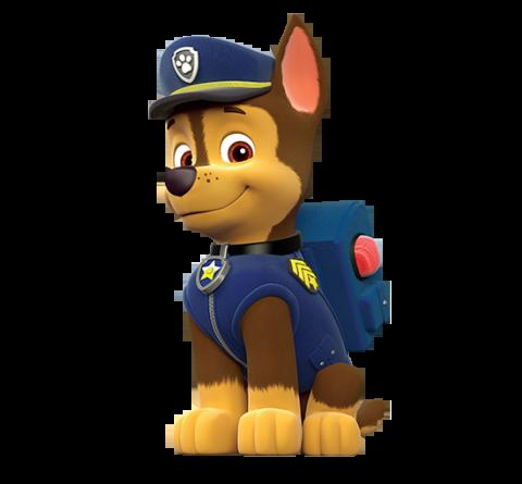 PAW Patrol karatasi la kupamba ukuta called Chase