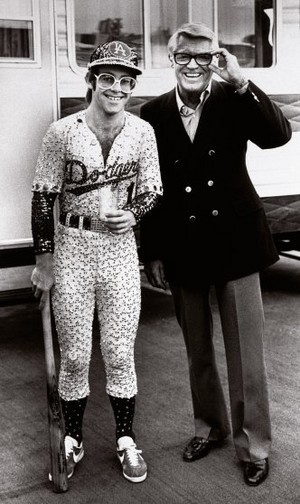 Elton John And Cary Grant Backstage