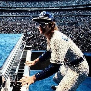 Elton John Dodger Stadium buổi hòa nhạc 1975