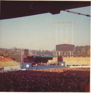 Elton John buổi hòa nhạc Dodger Stadium