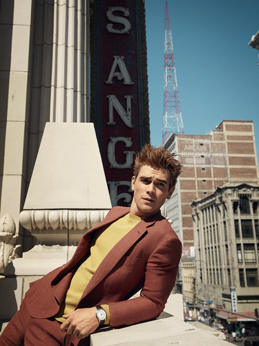 Riverdale (2017 TV series) wallpaper entitled KJ Apa photographed da Doug Inglish for GQ Style (2018)