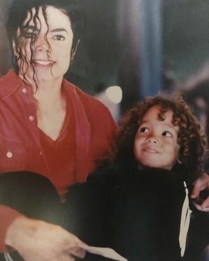 Michael Jackson y Talun Zeitoun