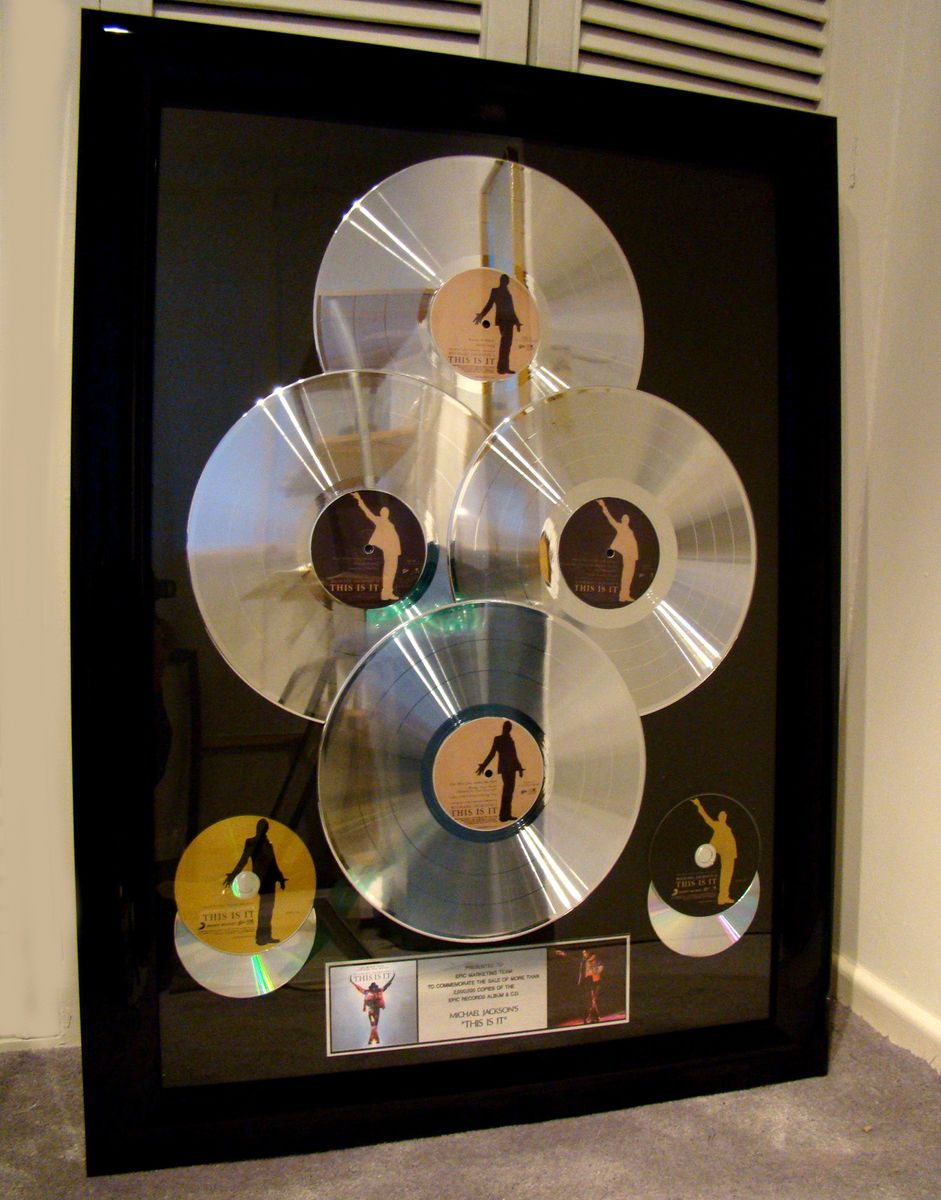 Platinum Record This Is It