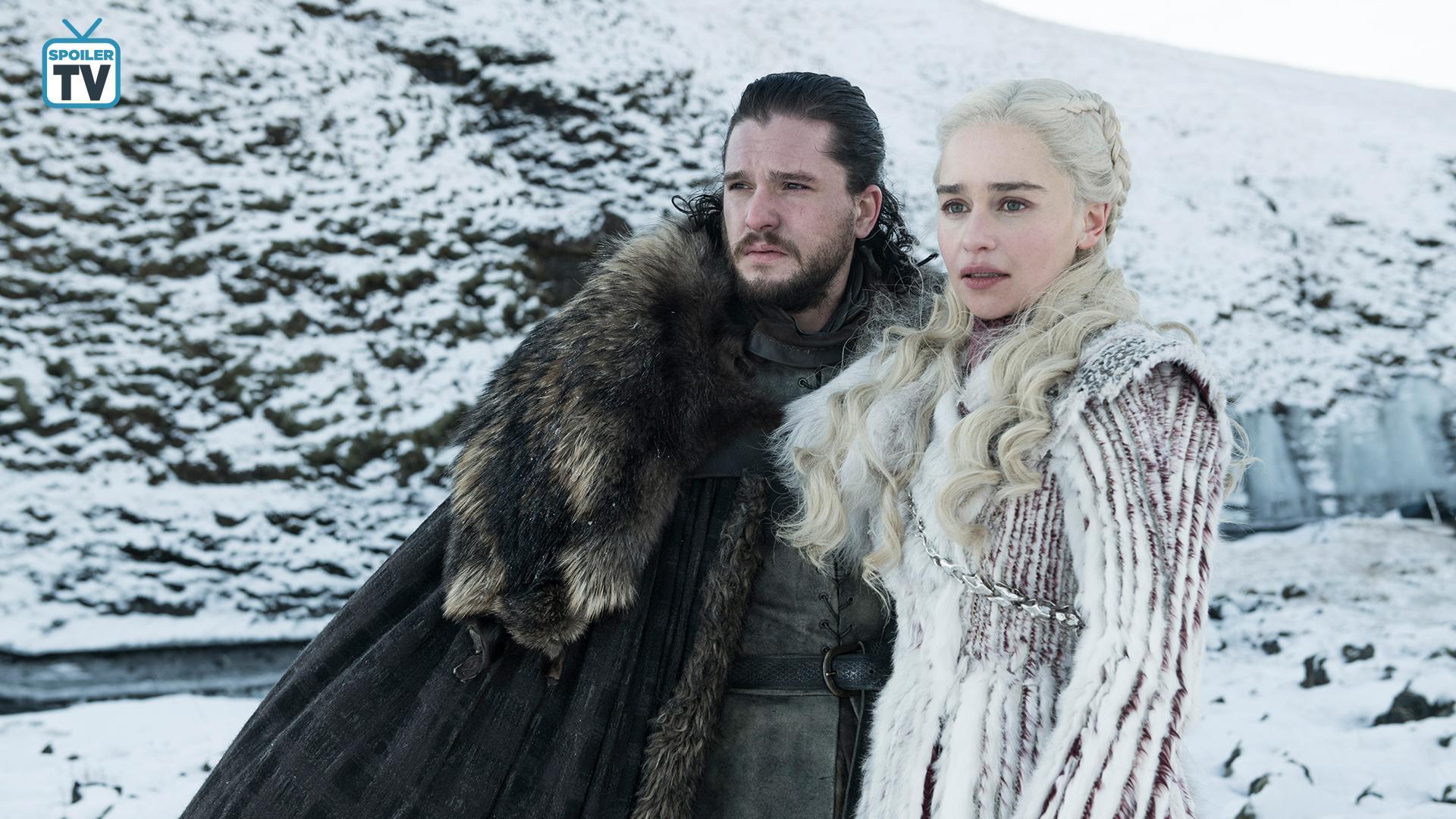 Season 8 ~ First Look ~ Aegon and Daenerys