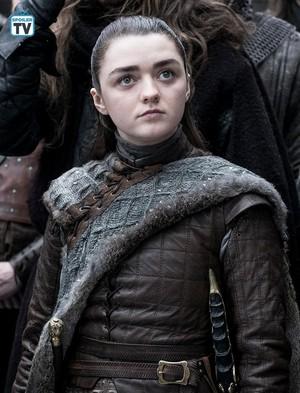 8x01 ~ Winterfell ~ Arya