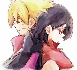 boruto and sarada