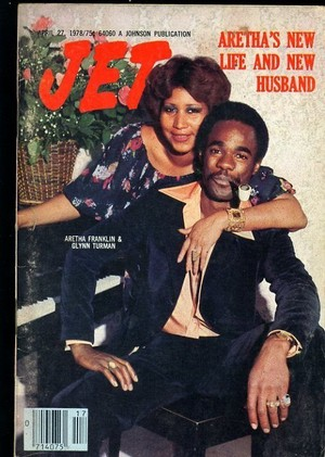 Aretha Franklin And Glynn Turman On The Cover Of Jet