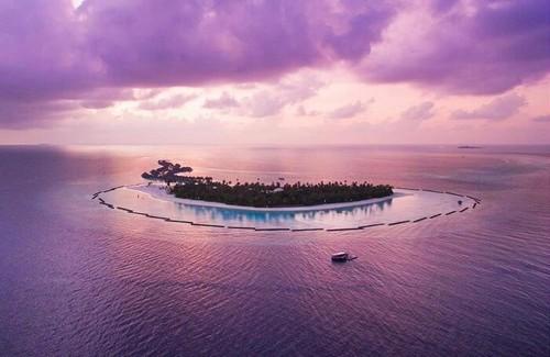 Maldives Hintergrund called Halaveli, Maldives