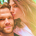 Jared and  Genevieve - jared-padalecki icon