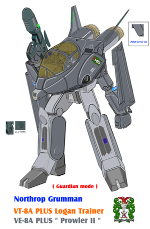 (New-EODAS , Guardian mode) VT-8 (VE-8 ) Logan Early model