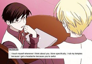 ★ Ouran Text Posts ★
