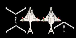 (Plane figure papercraft) VFH-10 Auroran AGAC