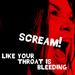 'Scream' - slipknot icon