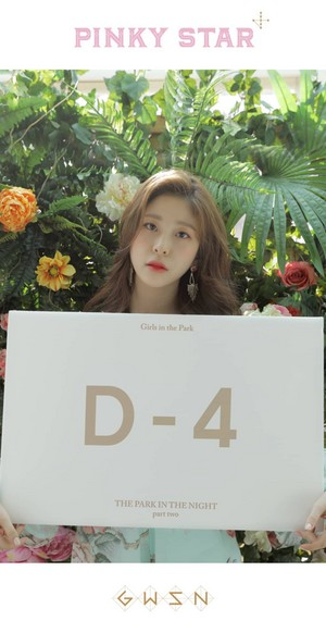 [The Park in the Night Part Two] countdown - Minju