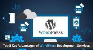 oben, nach oben 5 Key Advantages of WordPress Development Services