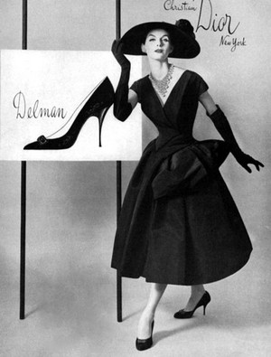 Vintage Christian Dior 50s Fashion