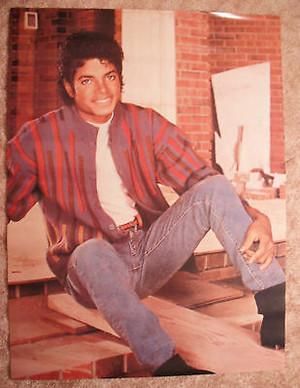Vintage Michael Jackson Poster