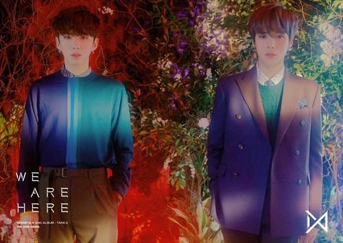Kihyun fondo de pantalla entitled 'WE ARE HERE' Concept foto #3