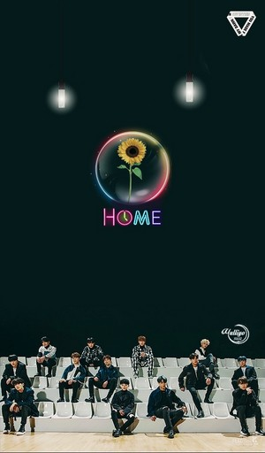 SEVENTEEN HOME 2 #LOCKSCREEN
