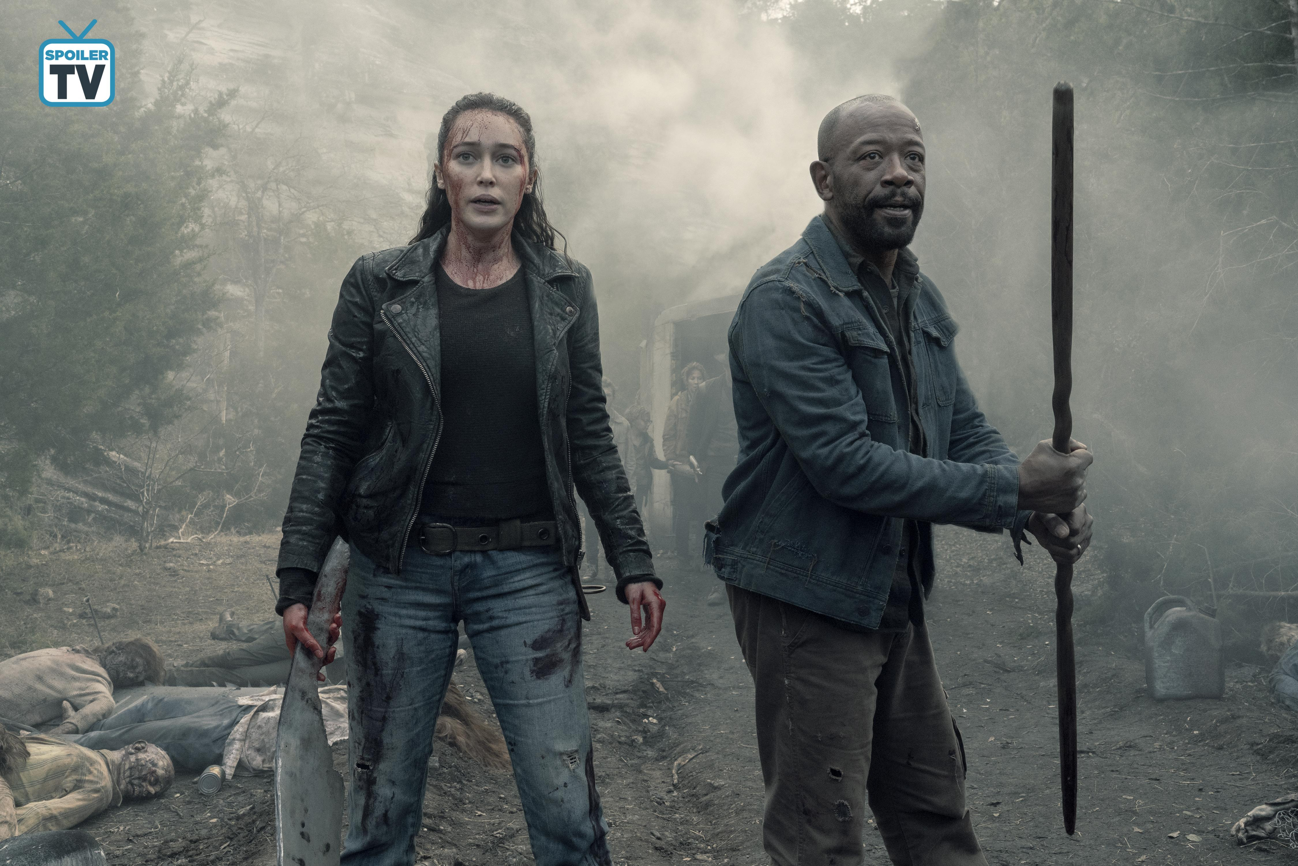 5x01 Promotional Photo ~ Alicia and Morgan